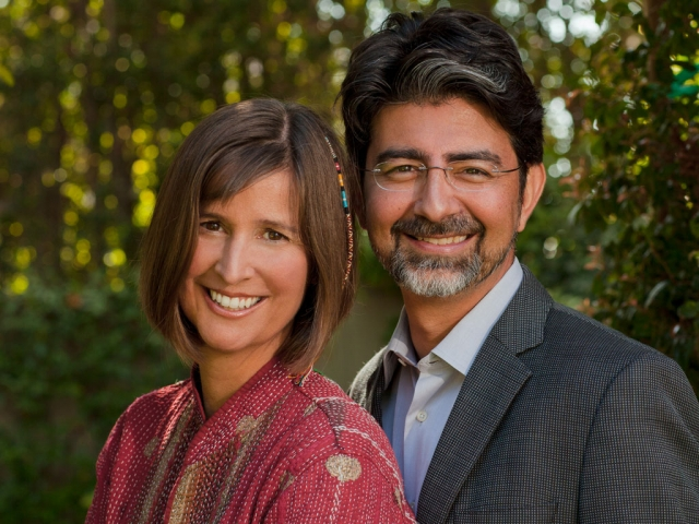 EBay founder Pierre Omidyar and Pam Omidvar