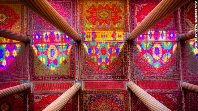 Columns, Carpets , Colors and the Light.taken in Nasir al-mulk mosque , Shiraz