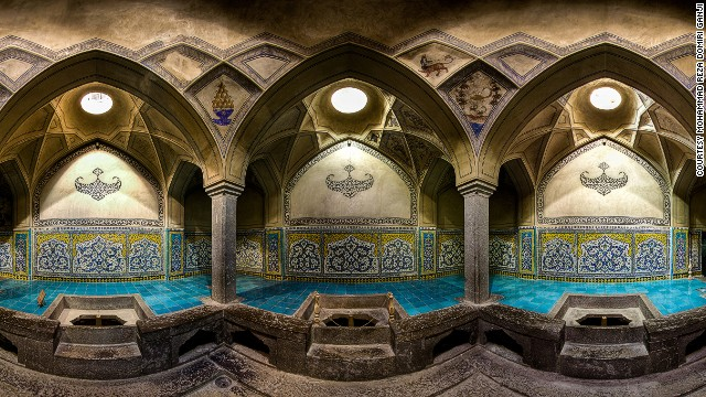 Historical bath, located in Isfahan