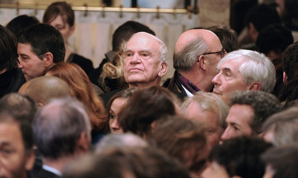Milan Kundera in 2010. Photograph: Miguel Medina/AFP/Getty Images